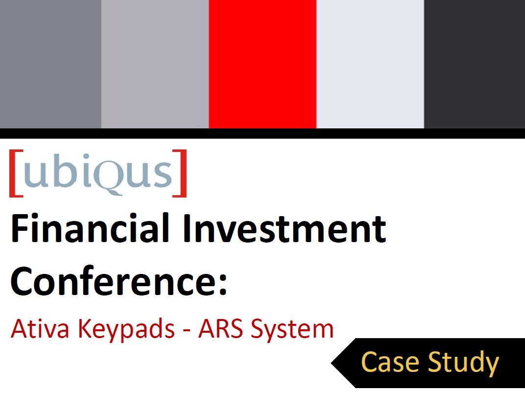 Case Study - Ativa Keypads, ARS - Ubiqus USA